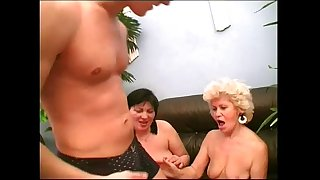 Sexy Mother Effie shares a young cock