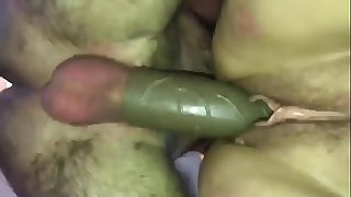 Nasty BBW Fucked Stiff with a Thick Penis Extension