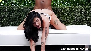 Juicy Ass Girl Back For Another Black Hard-on Pounding