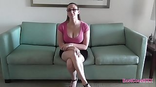 Melanie Hicks Job Interview Creampie