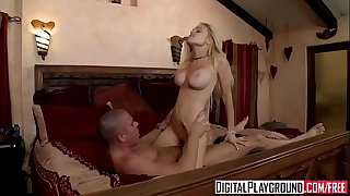 Bad woman (Jesse Jane) gets picked up on the side of the road - Digital Playground