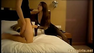 Real Chinese amateur fuckslut fucking in hotel