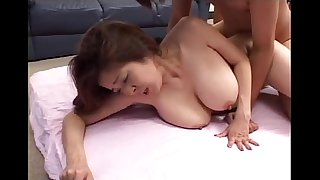 Wonderful Japanese girl with huge tits - SEXANUBIS.COM